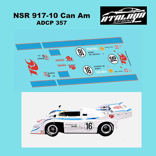 Atalaya ADCP357 NSR Porsche 917/10, Royal Crown No.16
